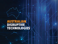Australian Disruptive Technologies Industry Capability Report cover
