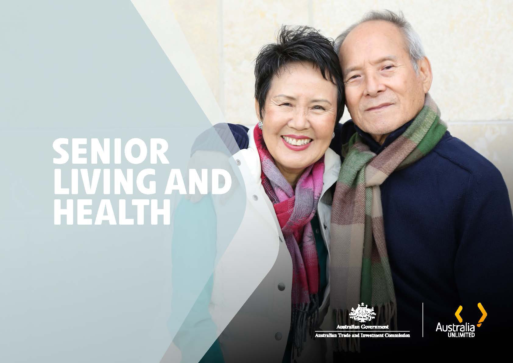 Senior living health report cover