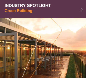 Industry spotlight green building