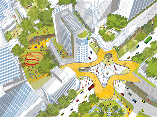 Cistri's reimagining of Singapore's iconic Orchard Road