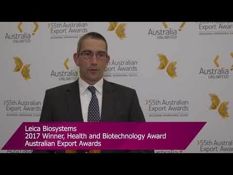 Leica Biosystems – 2017 Health and Biotechnology Award winner