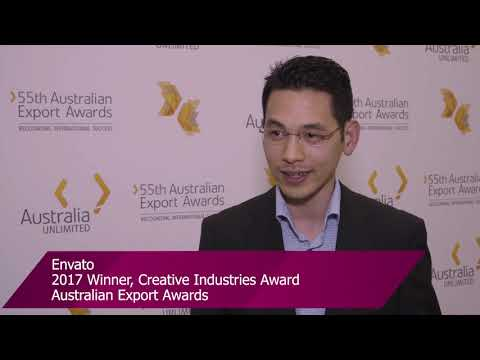 Envato – 2017 Creative Industries Award winner