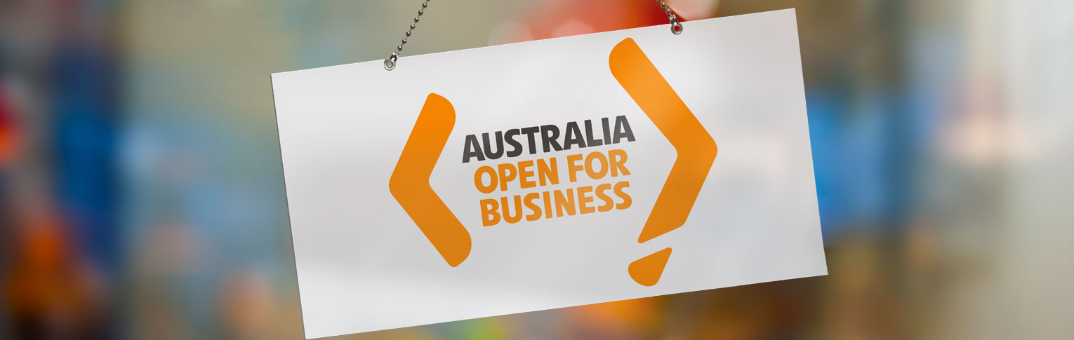 Australia: Open for Business